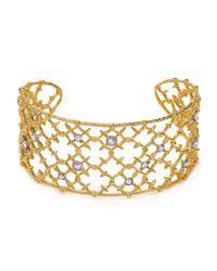 Alexis Bittar Metallic Elements Riveted Lace Cuff