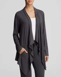DKNY   Gray Urban Essential Long Sleeve Cozy   Lyst