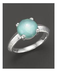 Ippolita | Blue Rock Candy Single Stone Ring In Aqua | Lyst