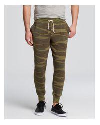 Alternative Apparel | Green Eco Fleece Dodgeball Pants for Men | Lyst