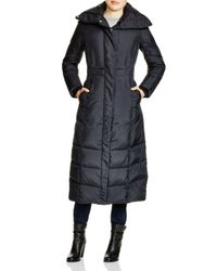 Cole Haan Black Down Maxi Coat