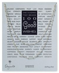 Dogeared | Metallic Good Wishes Necklace, 39.5"