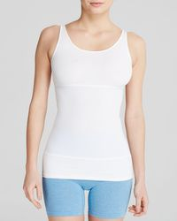 Yummie By Heather Thomson | White Pearl 3-panel Tank #yt1-196 | Lyst