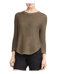 Ralph Lauren - Green Lauren Crewneck Sweater - Lyst