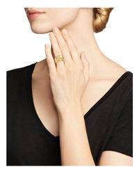 Roberto Coin Metallic 18k Yellow Gold Fantasia Diamond Daisy Ring