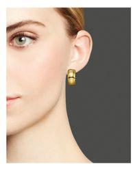 Ippolita - Metallic Glamazon® 18k Gold Small Huggie Earrings - Lyst