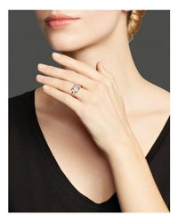 Ippolita | White Rock Candy Rose Single Stone Knife-edge Ring | Lyst