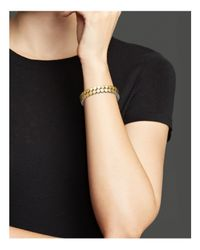 John Hardy - Metallic Sterling Silver And 18k Bonded Gold Dot Two Row Coil Bracelet - Lyst