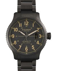 Filson | Gray The Mackinaw Field Watch, 43mm for Men | Lyst