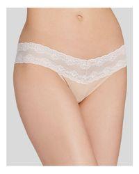 Natori | White Bliss Perfection V-kini #756092 | Lyst