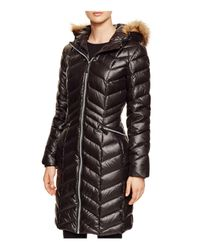 Marc New York Black Long Puffer Coat