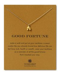 """Dogeared   Metallic Good Fortune Necklace, 18""""   Lyst"""