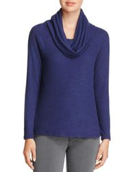 Joie - Blue Soft Cappella Cowl-neck Sweater - Lyst