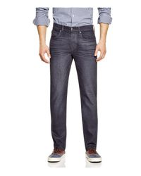Joe's Jeans - Gray Brixton Straight Fit In Dark Charcoal for Men - Lyst