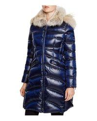 Dawn Levy   Blue Cloe Ii Coyote Fur Trim Down Coat   Lyst