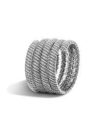 John Hardy | Metallic Classic Chain Sterling Silver Multiple Coil Bracelet | Lyst