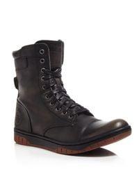 DIESEL | Black Tatradium Basket Butch Zip Boots for Men | Lyst