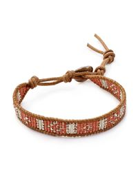 Chan Luu - Brown Beaded Bracelet - Lyst