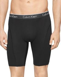 "Calvin Klein - Black Air Fx 9"" Cycle Shorts for Men - Lyst"