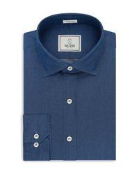 Todd Snyder | Blue Regular Fit Dress Shirt for Men | Lyst