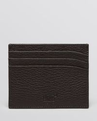 Montblanc Black Meisterstuck Soft Grain 6 Card Case for men