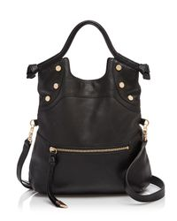 Foley + Corinna Black Lady Leather Tote