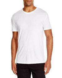 T By Alexander Wang | White Classic Short Sleeve Tee for Men | Lyst