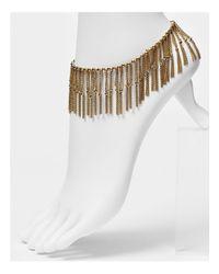 Rebecca Minkoff Metallic Mesh Anklet