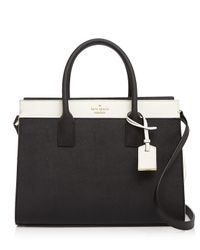 kate spade new york | Black Cameron Street Color Block Candace Satchel | Lyst