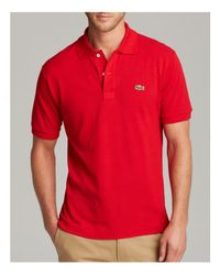 Lacoste - 12.12 Original Red Polo Shirt for Men - Lyst