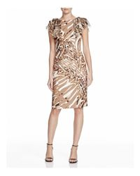 Basler Multicolor Animal Print Dress