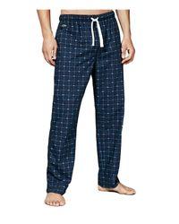 Lacoste | Blue Crocodile Print Lounge Pants for Men | Lyst