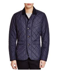 Barbour Blue Beauly Quilted Jacket for men