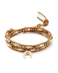 Chan Luu   Multicolor Agate Wrap Bracelet   Lyst