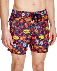 Vilebrequin | Blue Moorea Patterned Swim Shorts for Men | Lyst