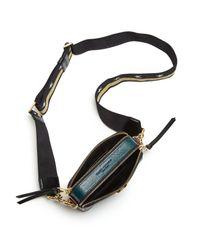 Marc Jacobs - Black Snapshot Leather Camera Bag - Lyst