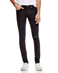 BLK DNM Super Slim Fit Jeans In Underhill Blue for men