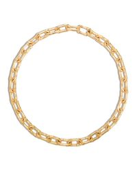 John Hardy | Metallic Bamboo 18k Gold Small Link Necklace, 18"