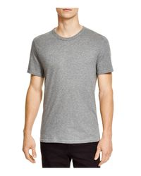 T By Alexander Wang - Gray Classic Short Sleeve Tee for Men - Lyst