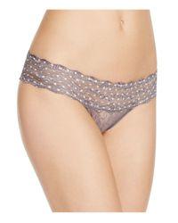 B.tempt'd   Metallic Lace Kiss Bikini #978182   Lyst