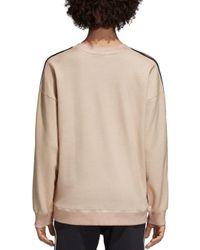 Adidas Originals Multicolor Three Stripe Sweatshirt