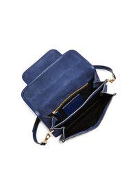 Marc Jacobs - Blue Medium Madison Suede Shoulder Bag - Lyst