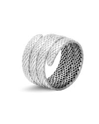 John Hardy | Metallic Sterling Silver Legends Cobra Triple Coil Bracelet | Lyst