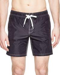Sundek - Black Swim Trunks for Men - Lyst