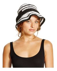 kate spade new york - Black Packable Cloche - Lyst