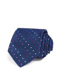 W.r.k. | Blue Dot Classic Tie for Men | Lyst