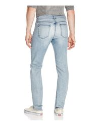 Rag & Bone - Blue Fit 2 Slim Fit Jeans In Chaucer for Men - Lyst