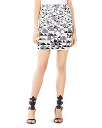 BCBGMAXAZRIA - Multicolor Pavel Knit Skirt - Lyst