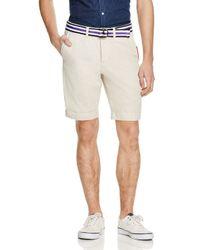 Superdry White International Chino Shorts for men