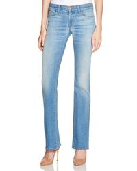 J Brand - Blue Brya Mid Rise Bootcut Jeans In Intrigue - Lyst